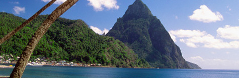 st lucia flights and hotel offers from UkNetGudie - search now